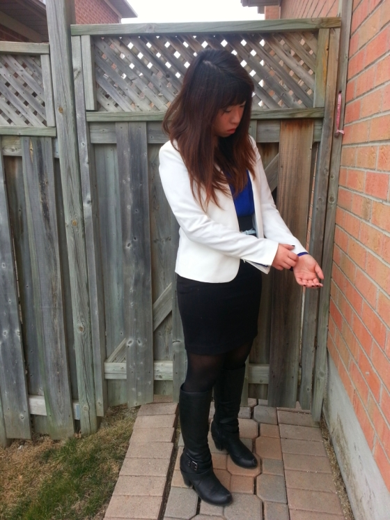 20130406150459722 - Outfit #1 with white blazer (Power woman)